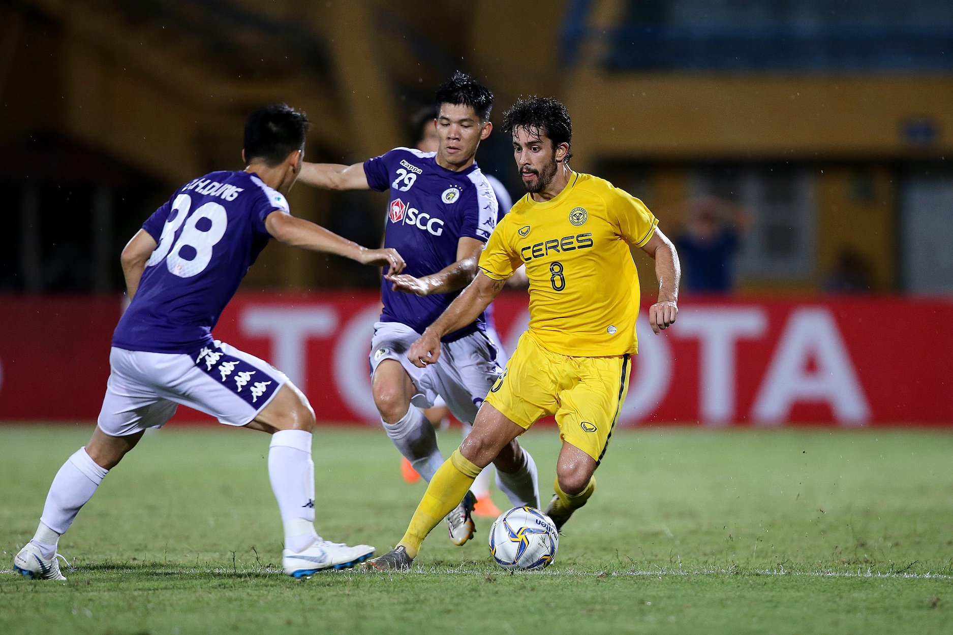 Hanoi Ousts Ceres Negros In Afc Cup