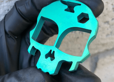 Mini Alien Cranium bottle opener