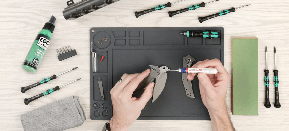 Massdrop KC Tool Knife Maintenance Kit