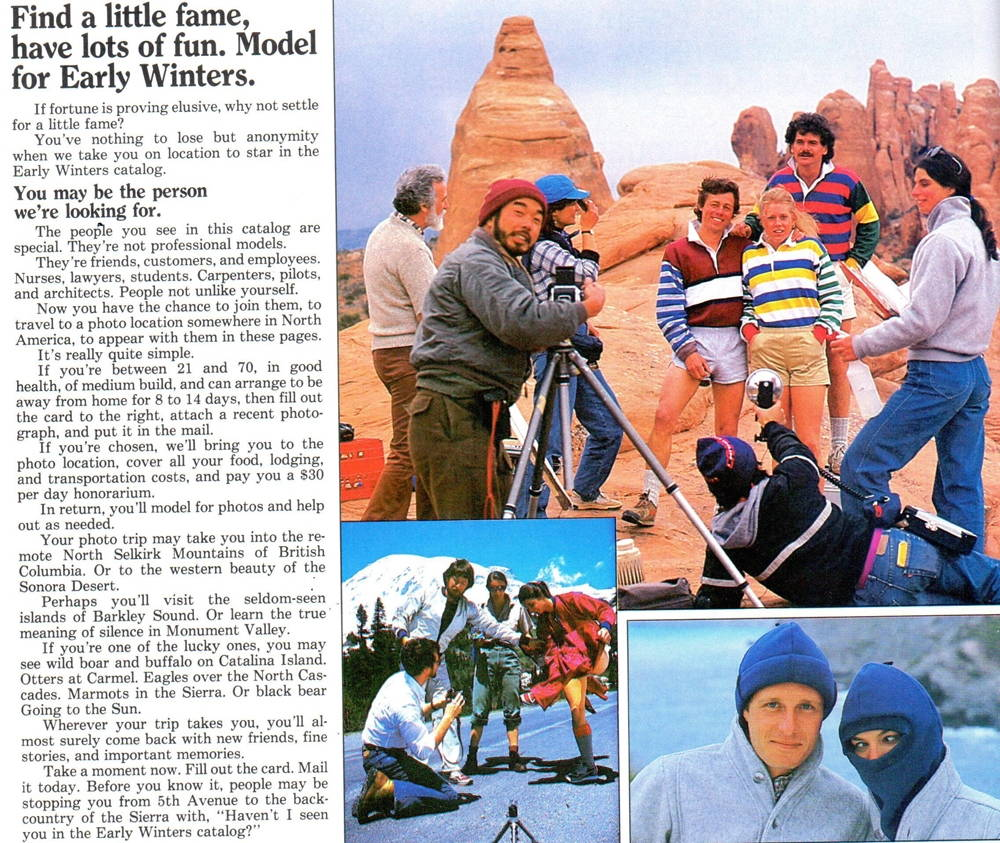 Early Winters Catalog 1983, p.50.