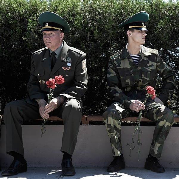 Military Parade, Tiraspol, Transnistria, 2007. Photograph by Narayan Mahon. © Narayan Mahon Photography.