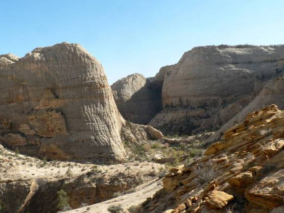 Abbey's writing and politics were deeply rooted in his love for the American Southwest, in particular the Colorado Plateau. It's a land of dramatic landscapes, such as the one pictured here in Grand Staircase Escalante National Monument. Photo Credit: Charles Carlin.
