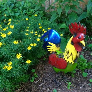 Lawn Rooster
