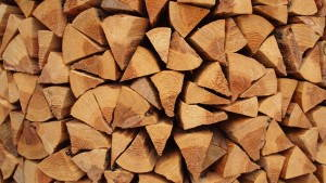 Firewood Stack. Photo by flickr user coniferconifer (CC by 2.0).