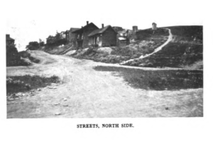 Nolen urged Roanoke and other cities to take immediate action against the squalid housing conditions were the result of public disinvestment in black and working-class immigrant neighborhoods. From Nolen, Remodeling Roanoke (1908).