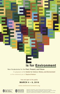 E is for Environment poster