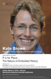 Kate Brown poster