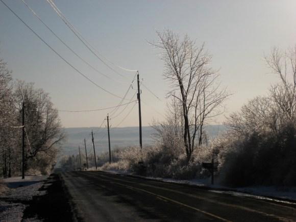 Ithaca, NY, winter, 2008. Photo courtesy of the author.