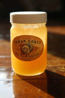 Urban Honey from Mad Urban Bees, Helen J. Bullard, 2016.
