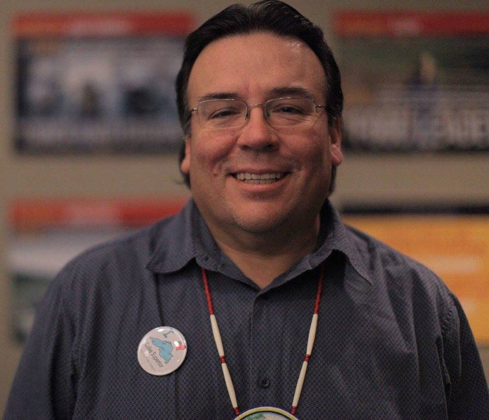 Mike Wiggins, Jr., former chairman of the Bad River Band of Lake Superior Chippewa.