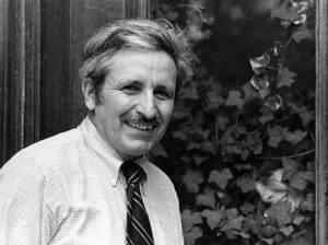 Hugh Iltis, Professor Emeritus of Botany at the University of Wisconsin-Madison, 1984. Photo by Glenn Trudell.