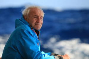 The film traces Claude Lorius in his past and current scientific explorations of Antarctica. Image courtesy of Eskwas-Wild Touch-CNRS.