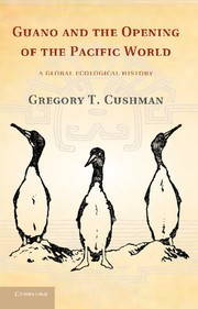 The cover of Cushman's first book shows a drawing of three sea birds