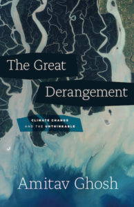 The title of the book is superimposed over an aerial photograph of ice flows.