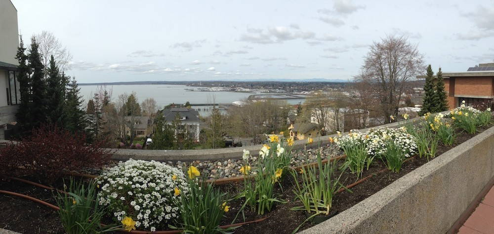 The Salish Sea from the OWW campus