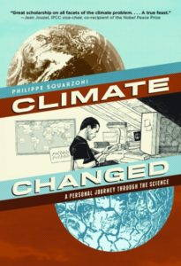Book cover of Climate Changed, by Philippe Squarzoni