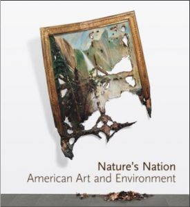 Book cover: Nature's Nation, American Art and Environment