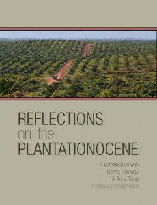 The cover of the PDF booklet Reflections on the Plantationocene