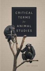 The cover of Critical Terms for Animal Studies, with two primates on a tree