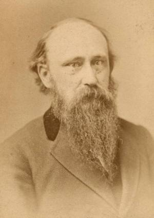 A portrait of Stephen Carpenter, English professor at UW-Madison