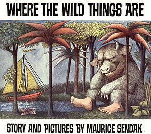 Book cover Where the Wild Things Are, Story and Pictures by Maurice Sendak
