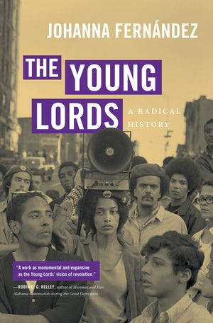 """The cover of the book """"The Young Lords: A Radical History"""""""
