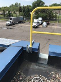 Parapet Wall Safety Rails