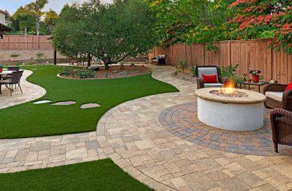 new patios repairs edge lansdcaping
