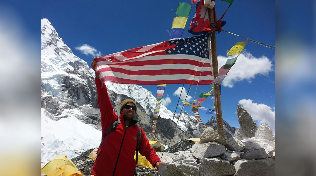 Backpacking Everest