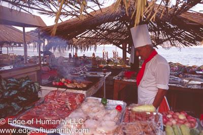 Open Air Restaurant Dahab Egypt
