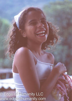 Young Girl from Brazil.