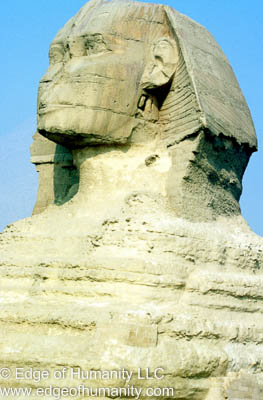 Sphinx - Cairo, Egypt.