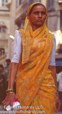 Woman In Yellow - India.
