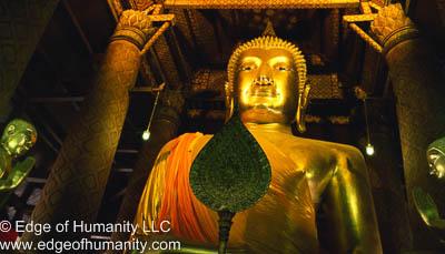 Buddhist Temple-  Thailand.