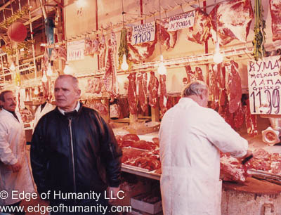 Meat Market - Greece.