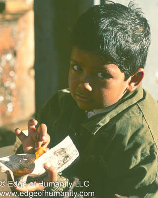 Boy from India.