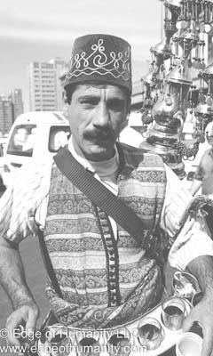 Tea seller - Middle East.