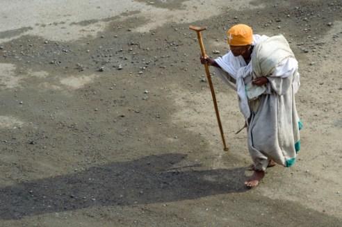 """Apocalypse"" - Snapshot of a holy man in Mekele, capital of northeastern Ethiopia´s Tigray province."