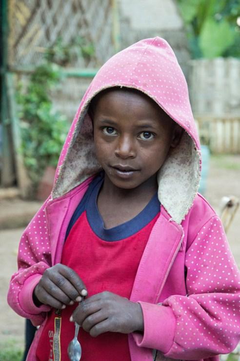 Dorze boy, Dorze Village, Guge Mountains, Ethiopia