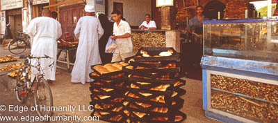 Bread stand - Egypt