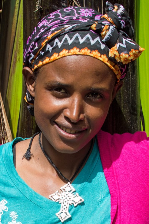 Young Dorze, Dorze Village, Guge Mountains, Ethiopia