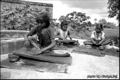 Years back when I was doing volunteer work at Varanasi, we rescued these kids from a local incense factory. HWA Varanasi (NGO in Varanasi) is working on the betterment of street children by offering education, accommodations and all basic necessities - India.