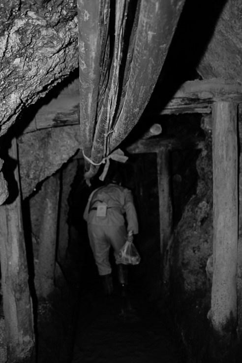 Miner - Potosi Mines, Cerro Rico, Cerro de Potosi, Bolivia