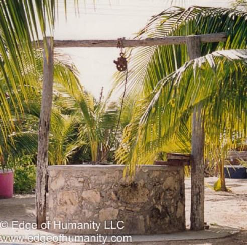 Cistern - Yucatan Peninsula, Mexico.
