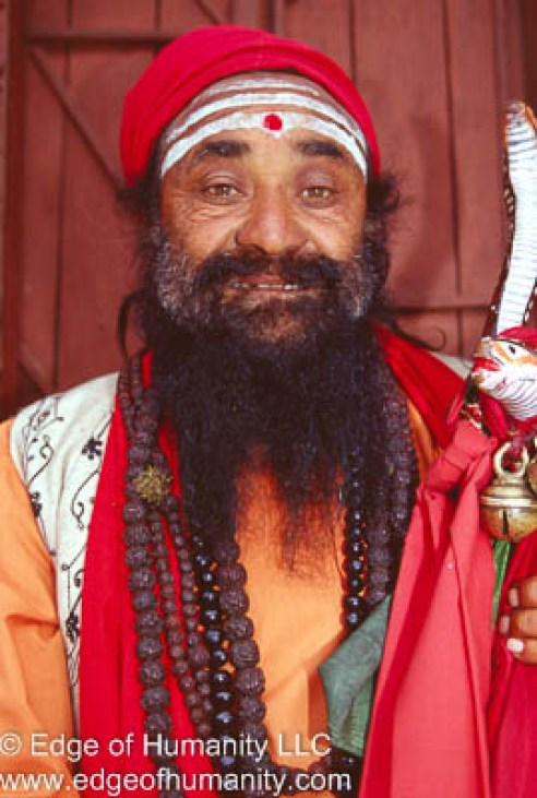 Indian man.