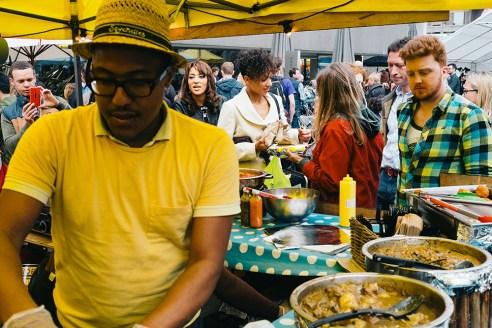 Food Market - South Bank, London