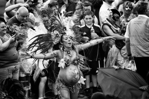Simone Reeves +1 at Brazilica 2014 in Liverpool UK.