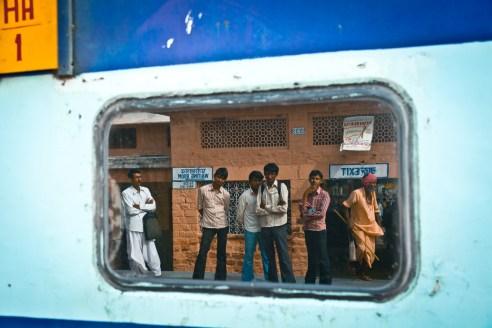 Train Station - India.