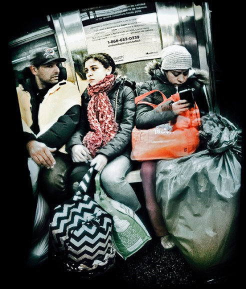 Bruegel New York City Subway
