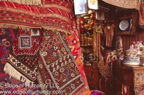 Rug shop - Syria.